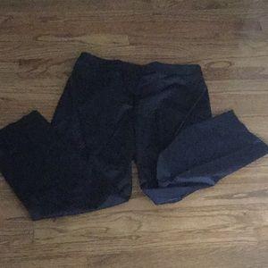 Talbots Dress Black Pants Size 12 Petite